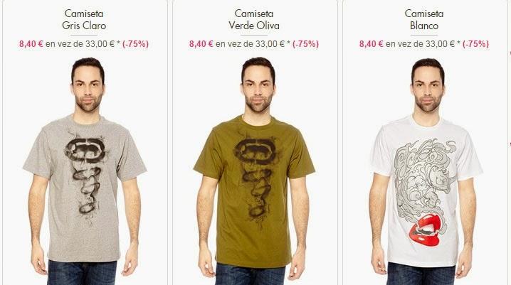camisetas Ecko hombre
