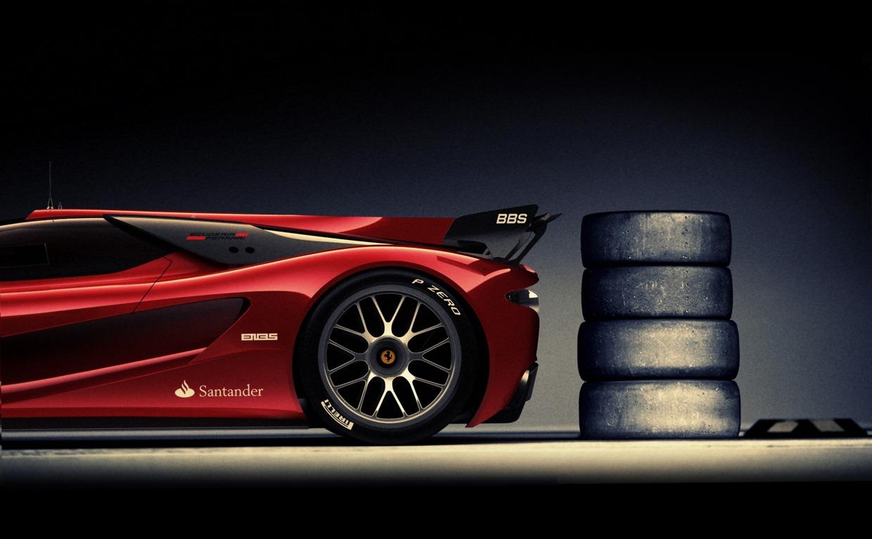 Ferrari Xezri Concept Sports Up