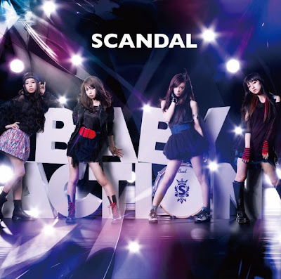 "SCANDAL >> álbum ""Baby Action"" Cover"