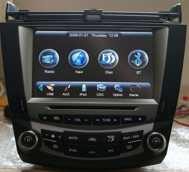 This Is A Honda Civic Gps Navigation. It Has A 7 Inch Digital Screen With A  Resolution Of 800 X 480 Pixels. The Car DVD Player For Honda Civic Has  Digital ...