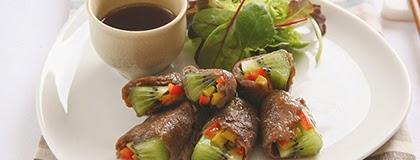 kiwifruit-beef-rolls