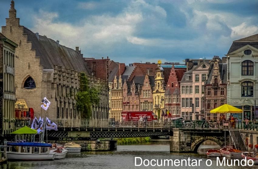 Canais em Gent