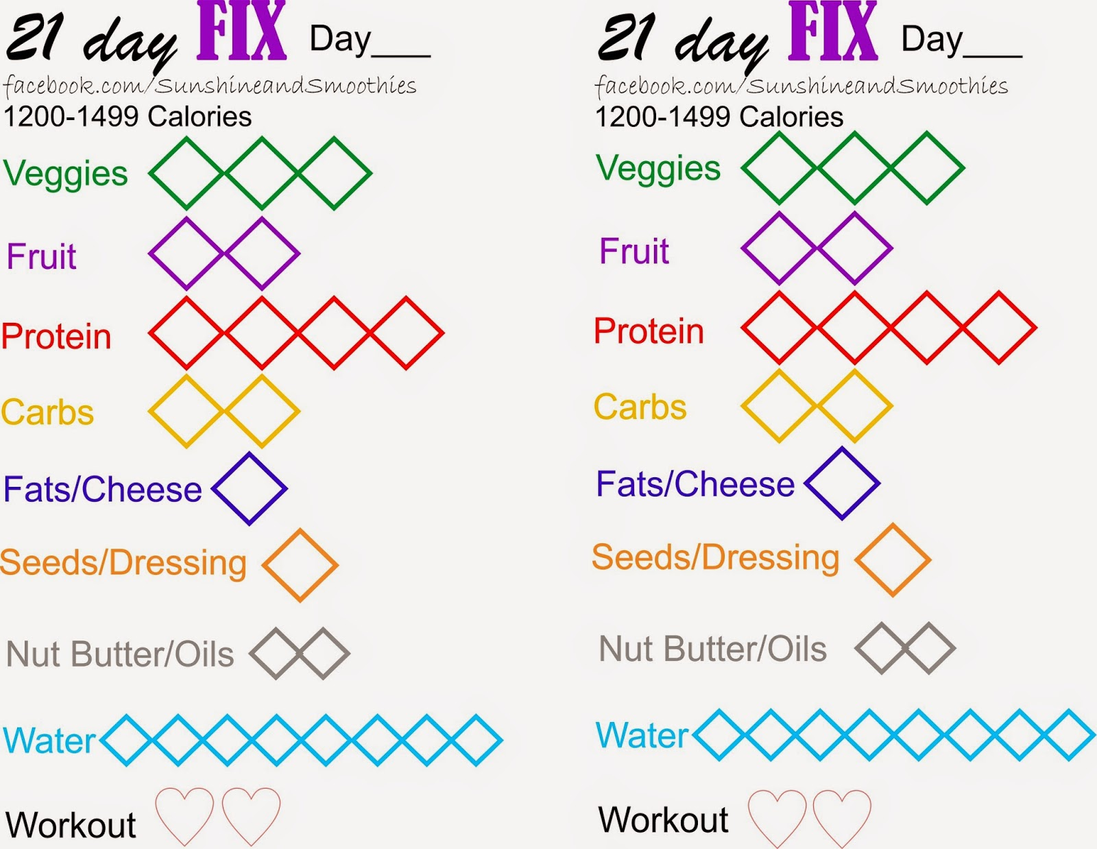 how to track 21 day fix workouts on myfitnesspal