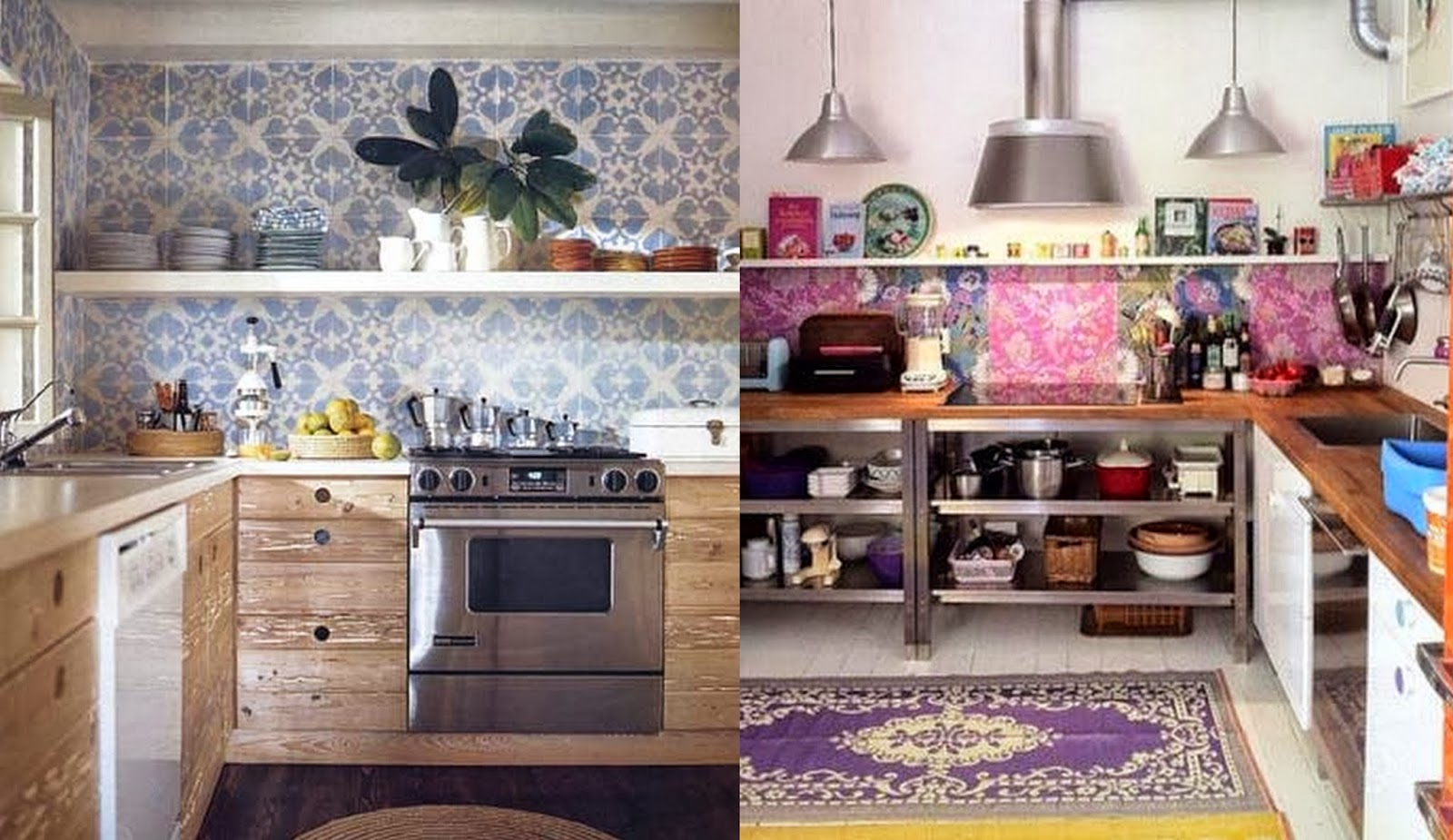 Ordinaire Boho Pattern Kitchen Decor