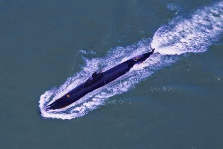Type 093 midget submarine