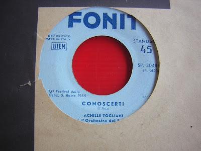 Sanremo 1959 - Achille Togliani - Conoscerti