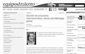 Entrevista en Equipos & Talento