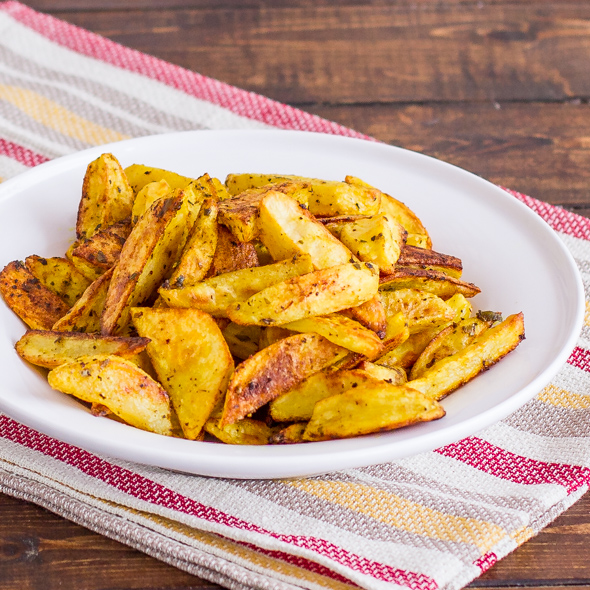 Roasted potato wedges healthy snack recipes quick and for Quick snacks to make with potatoes
