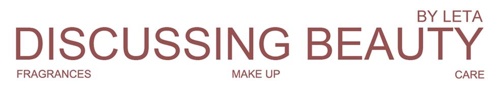 Discussing beauty | Блог об ароматах, декоративной и уходовой косметике
