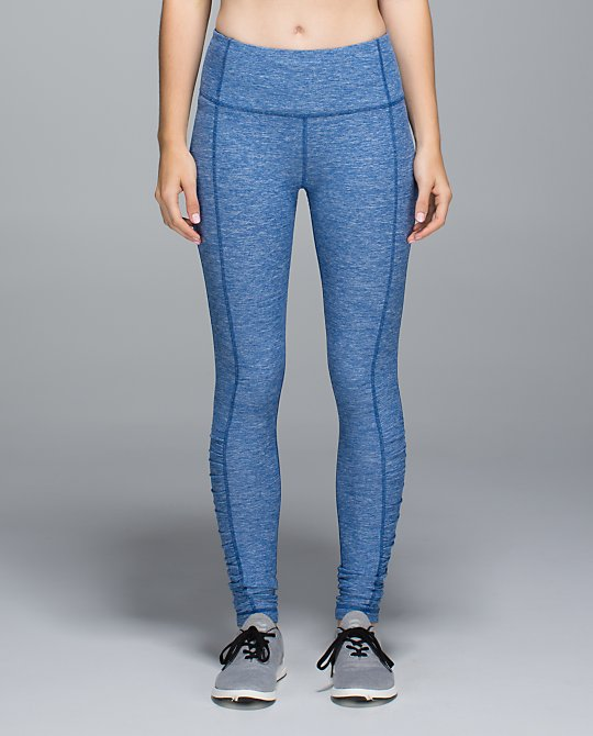 lululemon rugged blue turn around tight