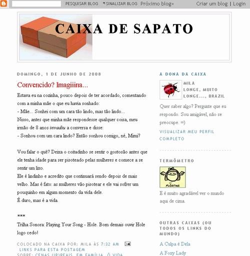Visite Caixa De Sapato