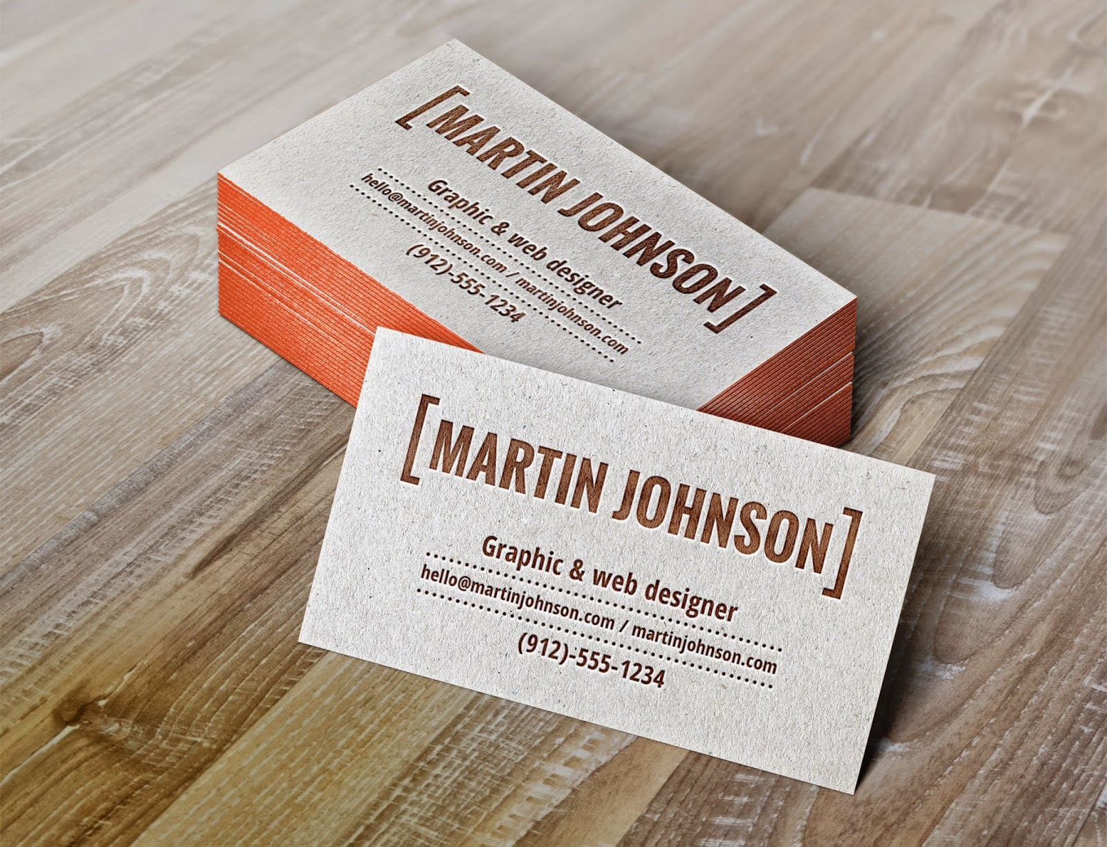 Graphic Degien&News: Business card