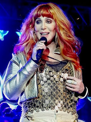 Cher at 'dance at the pier'