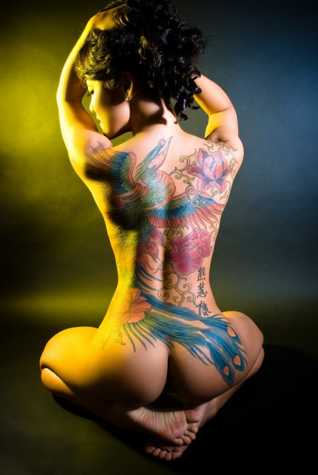 Perfect Women and Beautiful Body Tattoos