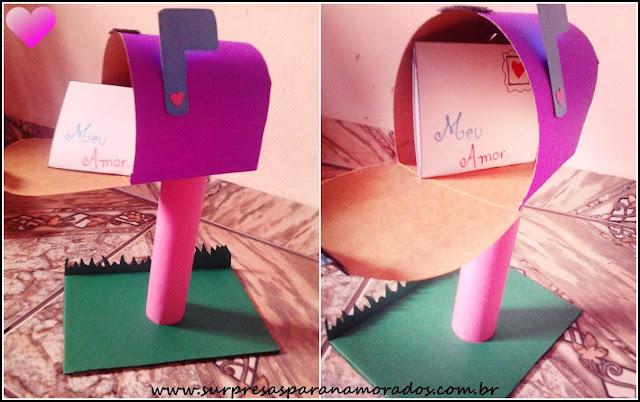 caixa de correio para o namorado