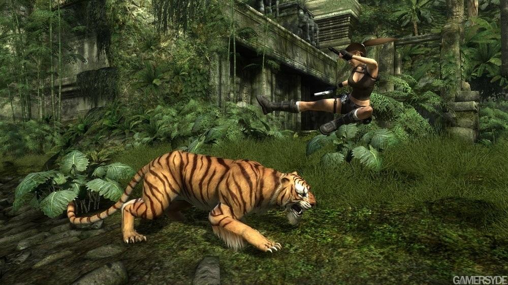 Скачать для телефона игру Tomb Raider Underworld 3D с тегами 176x220, 240x3