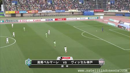 Siaran TV Liga Jepang 1 Shonan Bellmare vs Vissel Kobe
