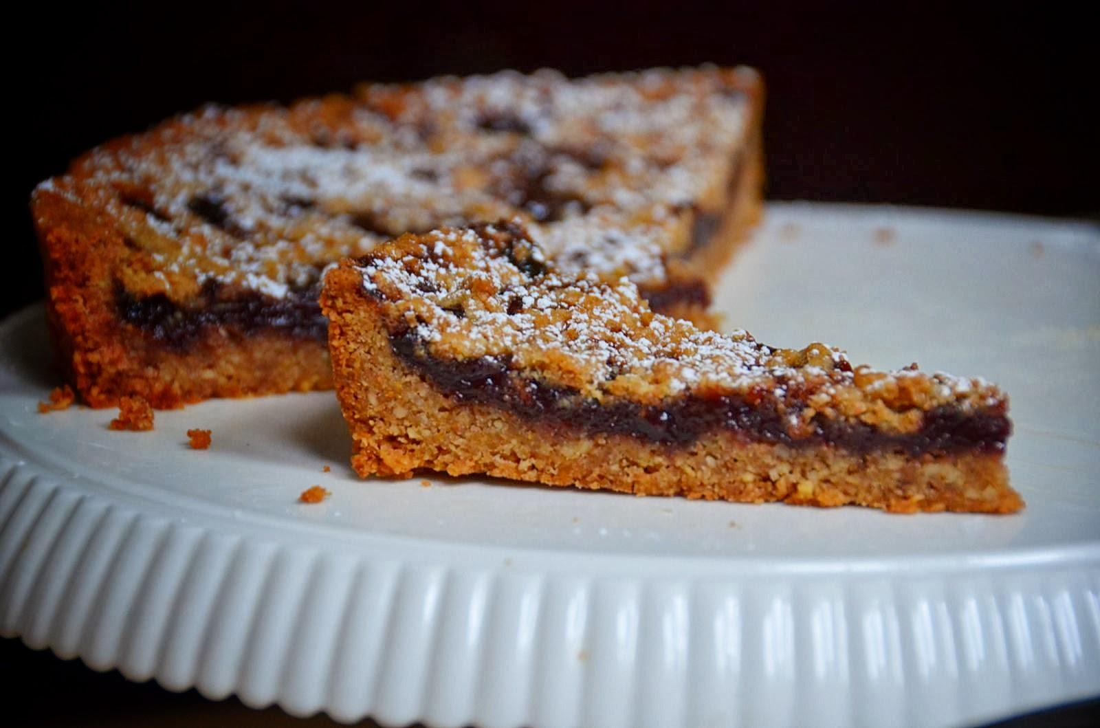 Cherry Linzer Torte