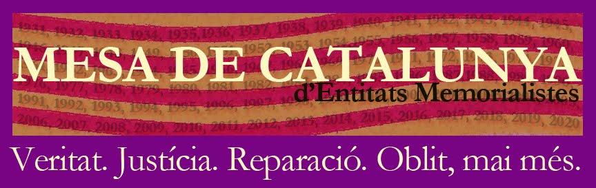 MESA DE CATALUNYA