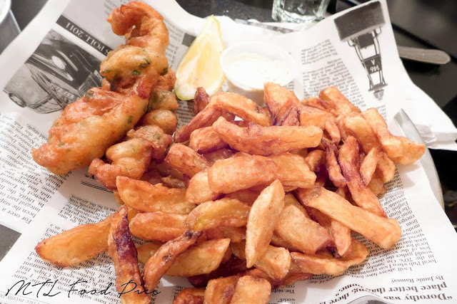 Sole with Sour Cream and Onion Batter - Fish N' Chips