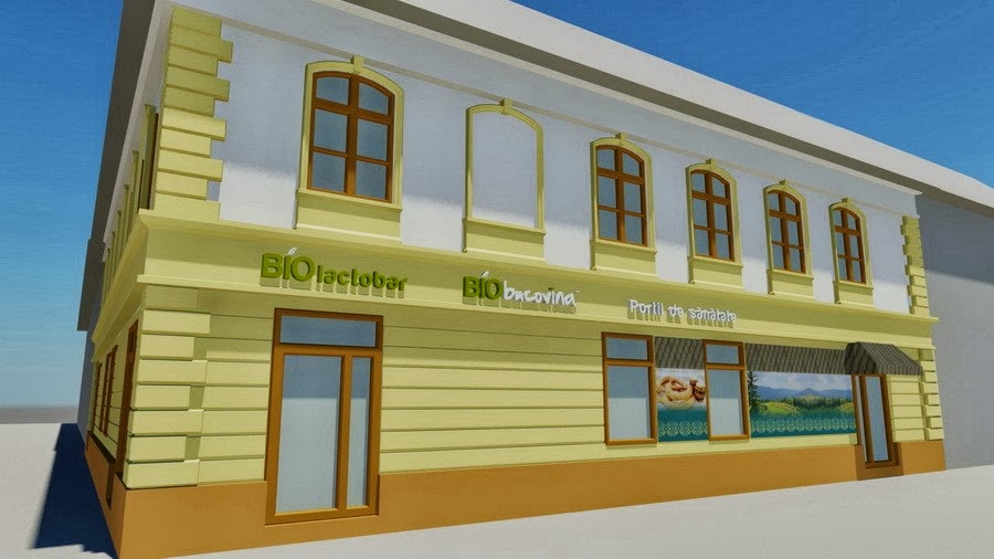simulare 3D - BIObucovina Timisoara