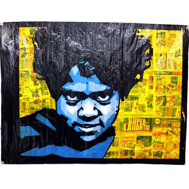 tape art tapeart  artist Nikolay Vasilyev