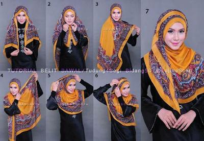 Hijab Segi Empat Praktis