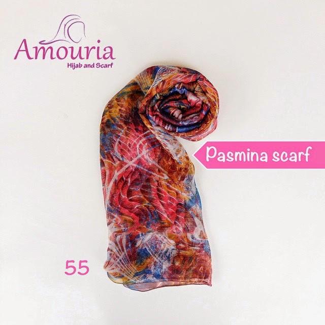 Hijab Amouria Pashmina Scarf Kode 055