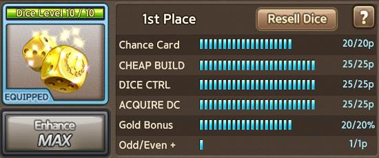 1st Place Dice