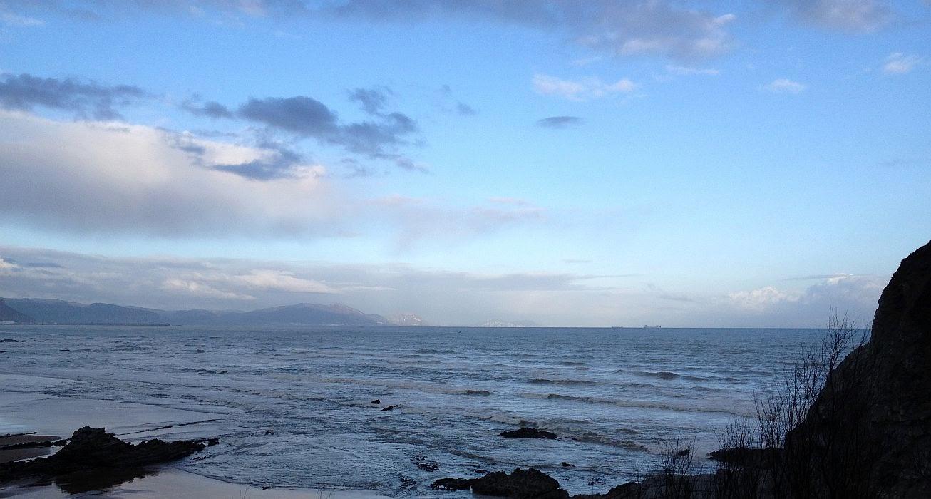 amanecer en sopelana playa