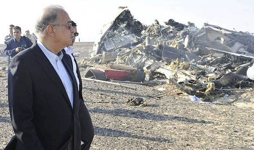 Sad! Russian Plane Crashes In Sinai, Killing All 224 People On Board.. SEE Photos