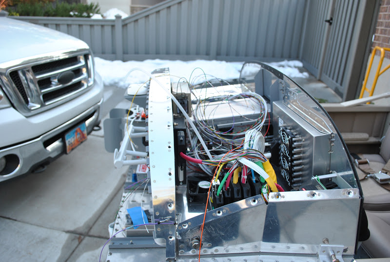 RV-12 Builder in Sandy, UT: Firewall Forward Wiring