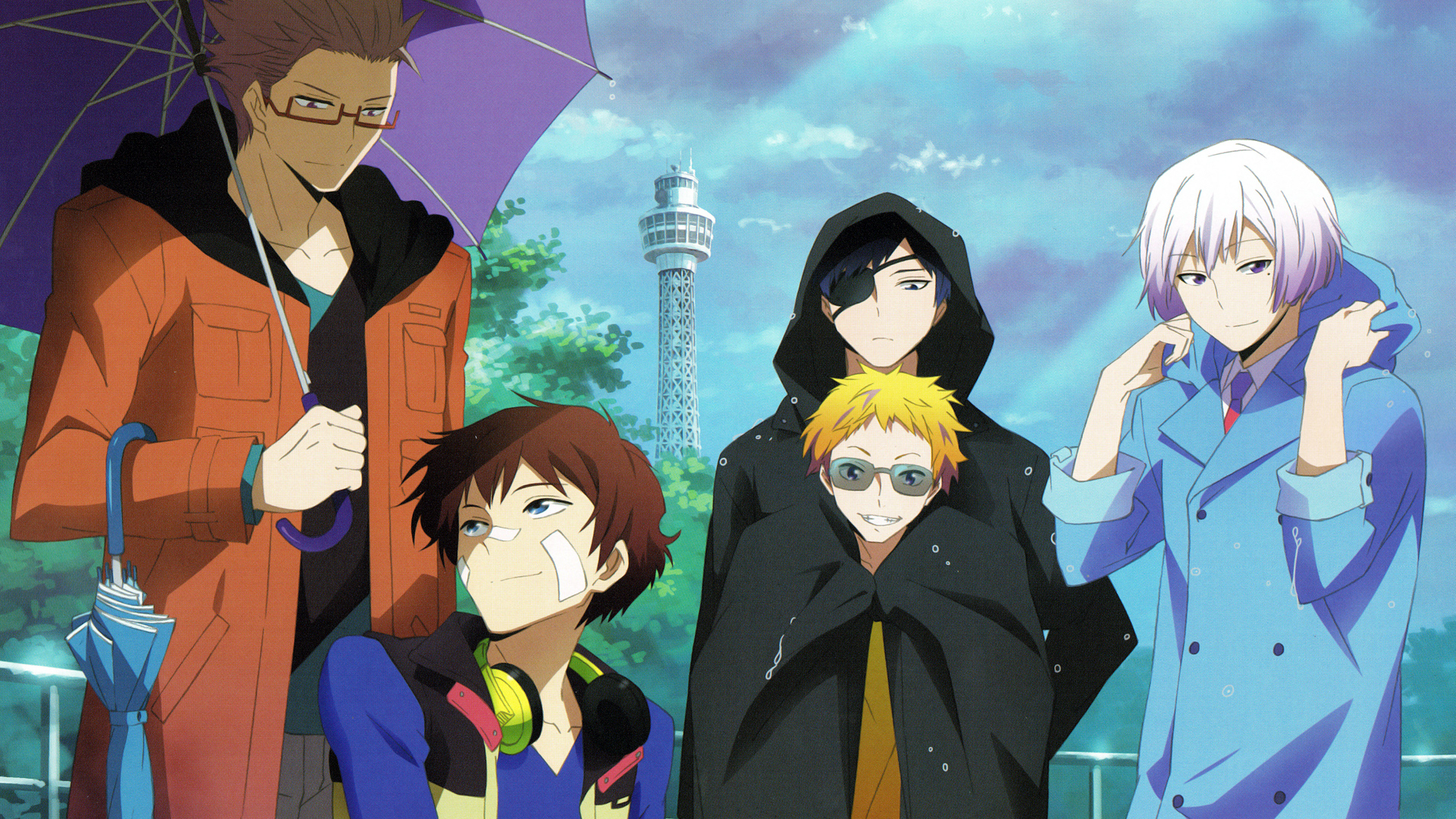 Anime Character Birthday 7 July : Hamatora anime wallpaper hd