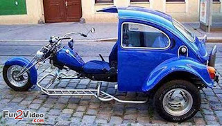 Combination Of Car and Bike