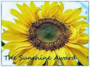 The Sunshine Award sunflower pic
