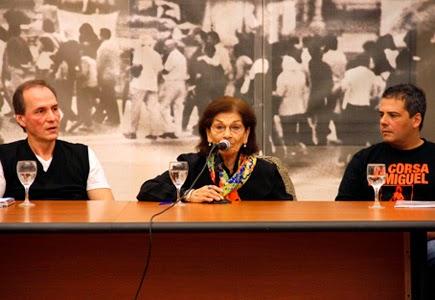 Se presentó en la ex ESMA la Asociación La Carrera de Miguel