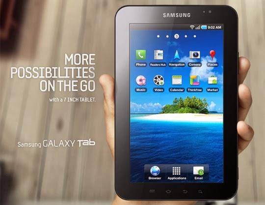 Daftar Harga Samsung Galaxy Tab Terbaru 2014