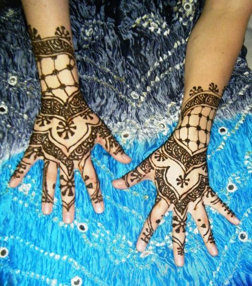 Traditional N Bridal Mehndi Designs : Mehndi art henna foot simple mehendi design mehandi