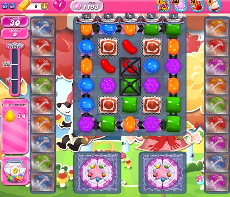 Candy Crush Saga 1193