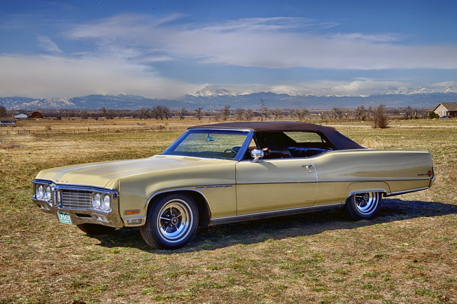 All american classic cars 1970 buick electra 225 custom 2 door