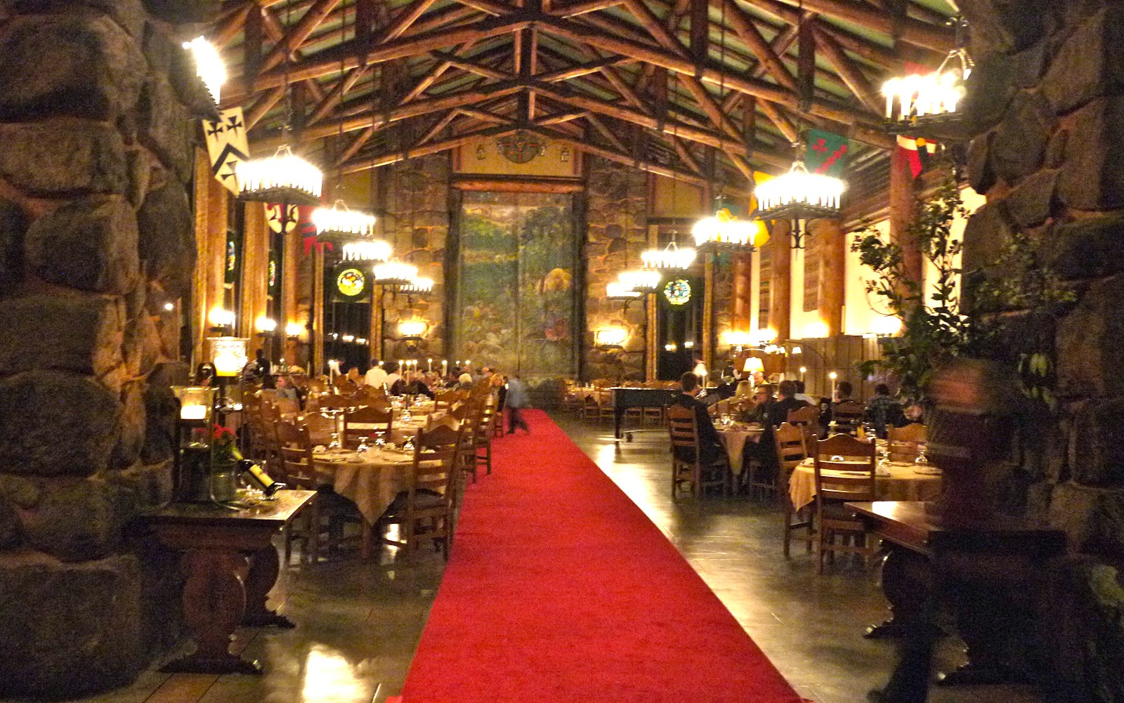 The Ahwahnee Hotel Dining Room Smittenfood Ahwahnee Dining Room  Yosemite National Park