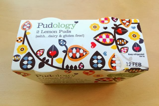 Pudology Vegan Dairy-Free Lemon Dessert Pudding