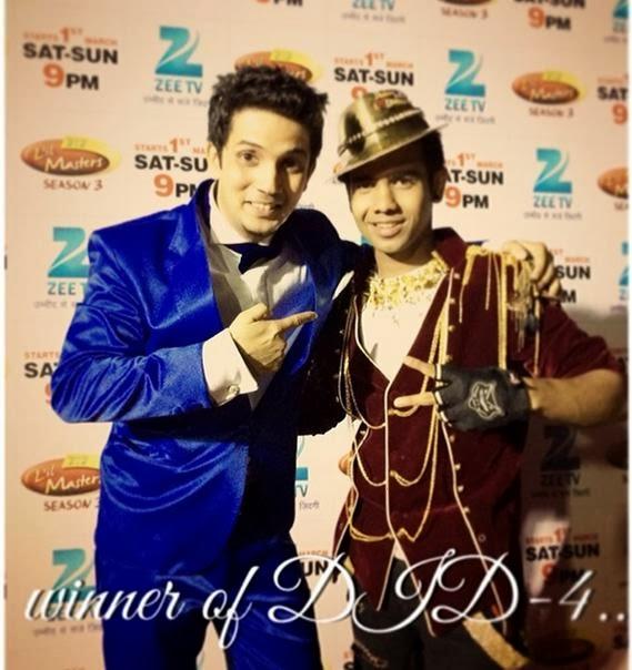 Dance India Dance 4 winner Shyam Yadav with Sunahri Topi and Master Mudassar