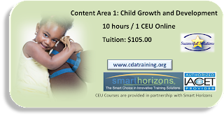 Child Growth and Development Training 10 hours 1 CEU