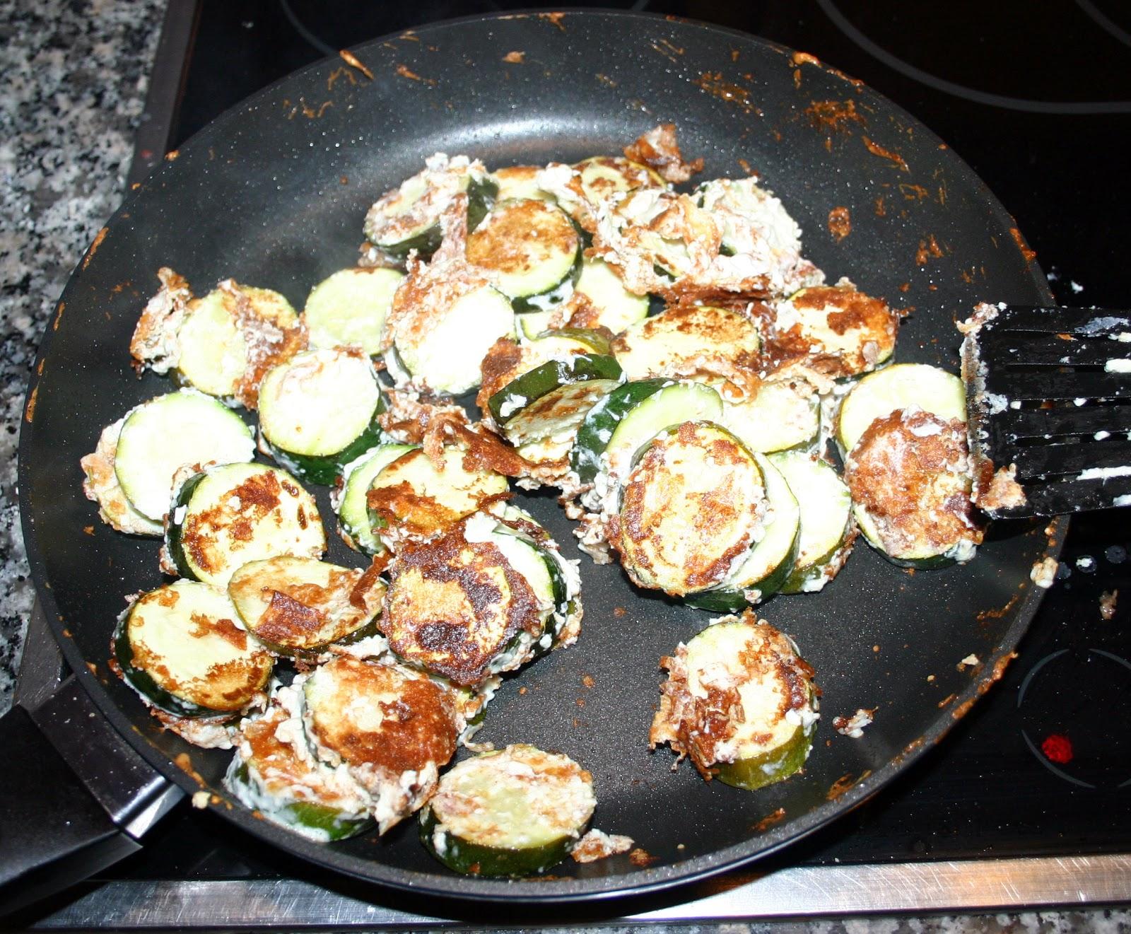 Kochen aus leidenschaft fladenbrot mit zucchini und for Kochen zucchini