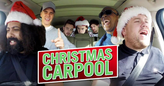 Christmas Carpool Karaoke - Joy to the World | James Corden und ein Wagen voller Popstars