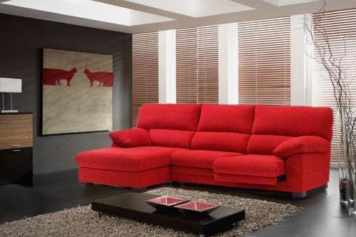Peque as lecciones de dise o 39 circulo de asientos - Salon con sofa rojo ...