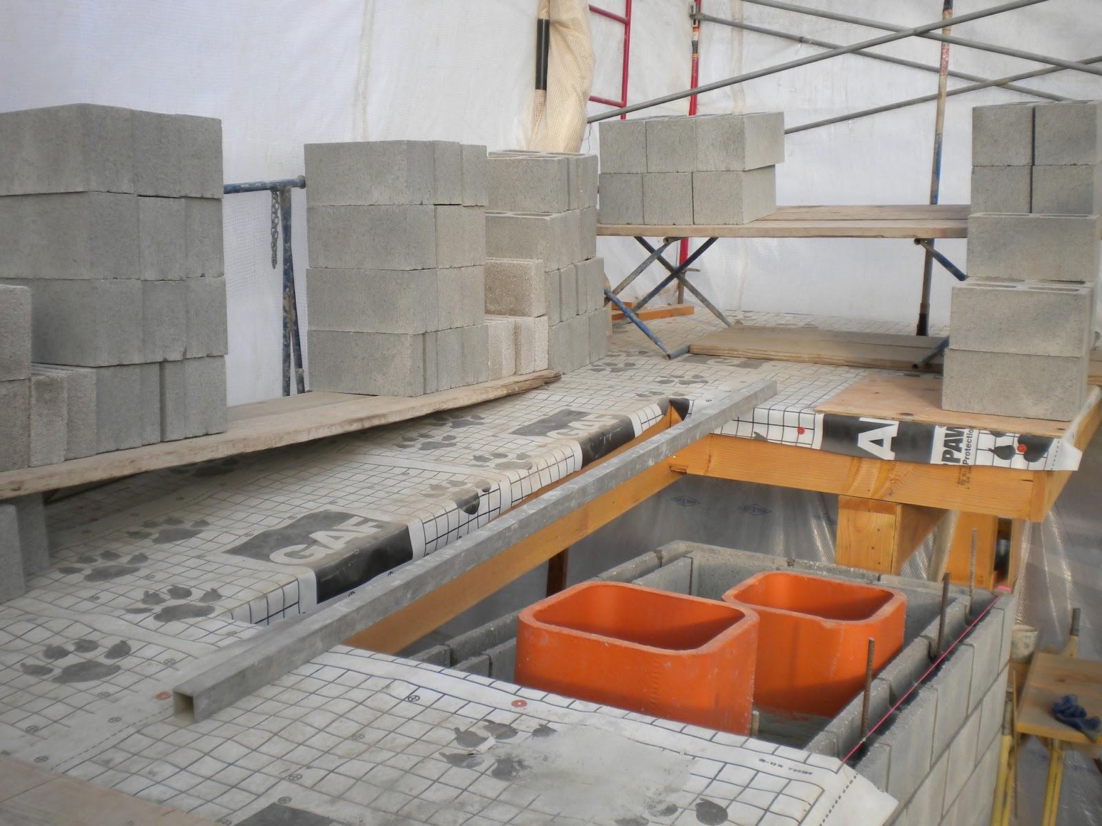 Cmu Chimney Blocks : Boisineau masonry cmu chase and flue liners are now at