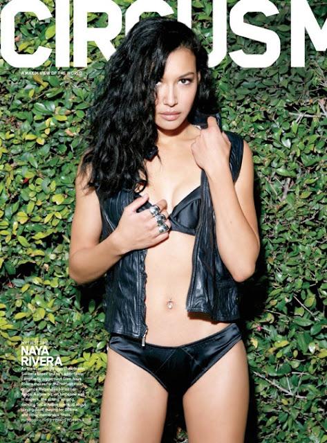 Naya Rivera on Magazine