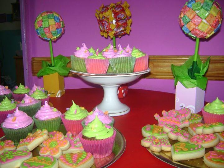 Le Petit Cake: Cookies y cupcakes para el primer añito de Brisa!